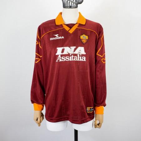 ROMA HOME JERSEY DIADORA LS 1999/2000...