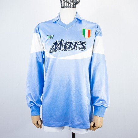NAPOLI  HOME JERSEY  ENNERRE MARS LS...