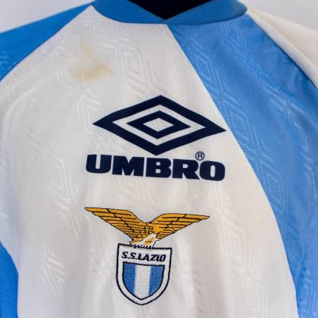MAGLIA ALLENAMENTO LAZIO UMBRO 1992/1993