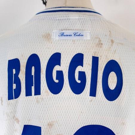 BRESCIA AWAY JERSEY GARMAN BAGGIO 10...