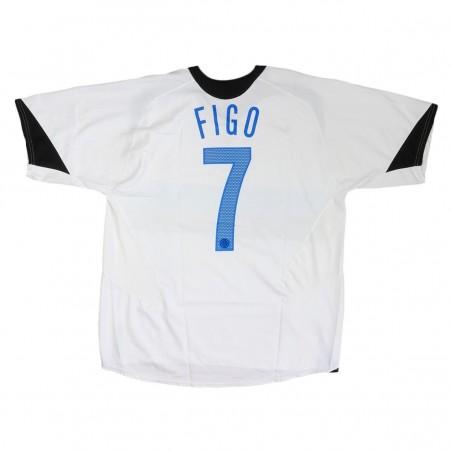 FC INTER AWAY JERSEY FIGO N.7 2005/2006