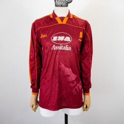 ROMA HOME JERSEY ASICS LS...