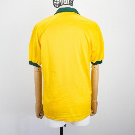 BRAZIL HOME JERSEY TOPPER ITALIA 90...