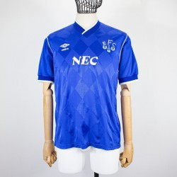 EVERTON HOME JERSEY 1986/1987