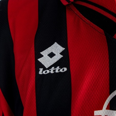 MILAN HOME JERSEY LOTTO 1996/1997 WEAH 9