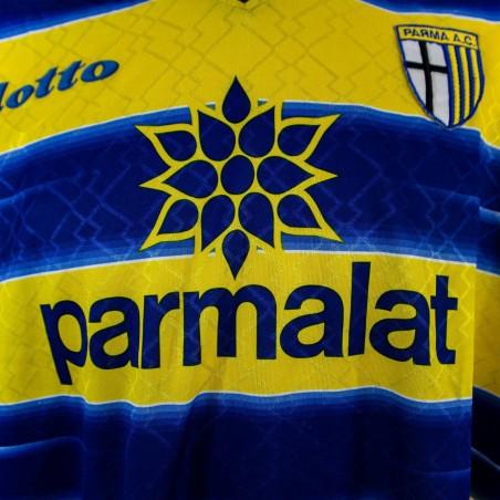 MAGLIA HOME PARMA LOTTO 1998/1999