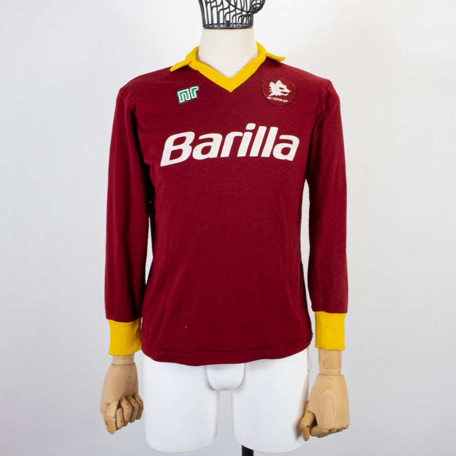 ROMA HOME ENNERRE JERSEY LS 1989/1990