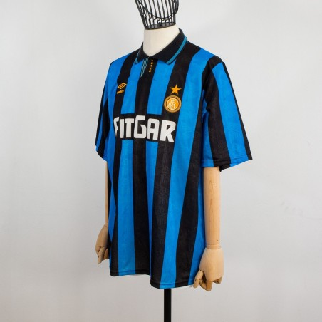 HOME INTER JERSEY UMBRO FITGAR 1991/1992