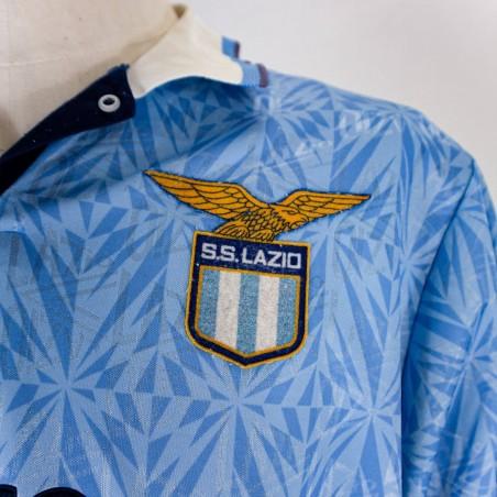 LAZIO HOME JERSEY UMBRO 1991/1992