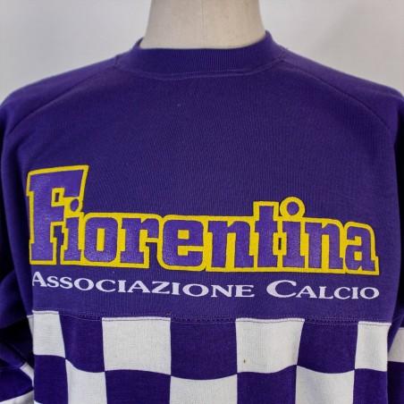 FELPA GIROCOLLO FIORENTINA 1990/1991