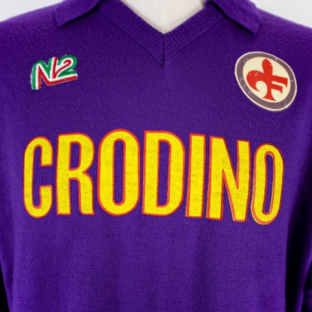 FIORENTINA HOME JERSEY ENNEDUE LS...