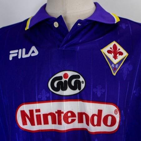 MAGLIA HOME FIORENTINA FILA 1997/1998